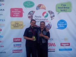 Me & Pak Widyo, my teacher